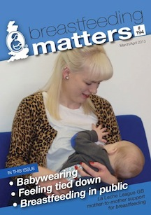 Breastfeeding Matters publication cover